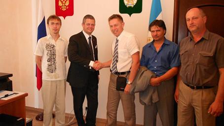 Встреча Максимилиано Панеро с представителями правительства и культуры РБ