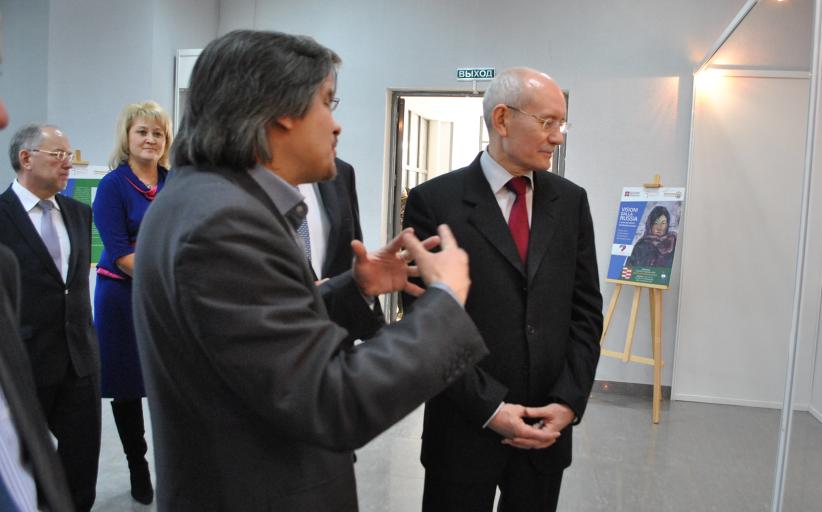Презентация экспозиции «Взгляд из Италии» 7 февраля 2014г.