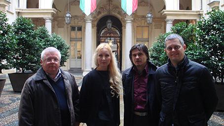 Визит башкирской делегации в Италию