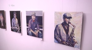 В Уфе открылась экспозиция художника-музыканта Айдара Альметова